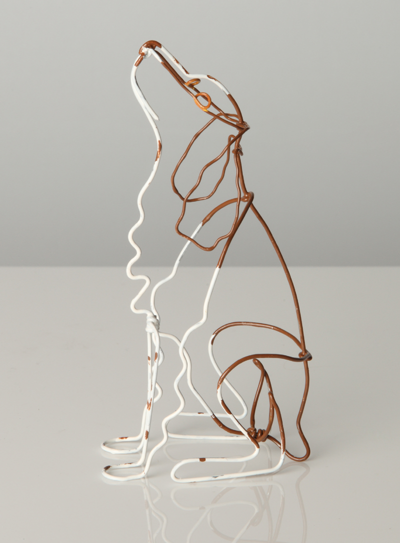 Line on pinterest line drawings wire sculptures and for 3d sculpture artists