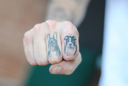 Tattoo Hundepfoten LiLzeu DE