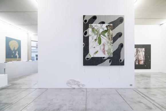Aline Bouvy, Urine Mate, Ausstellungsansicht © Aline Bouvy und Albert Baronian G