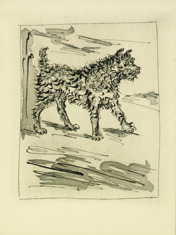 Pablo Picasso, Le Chien (Der Hund), 1936