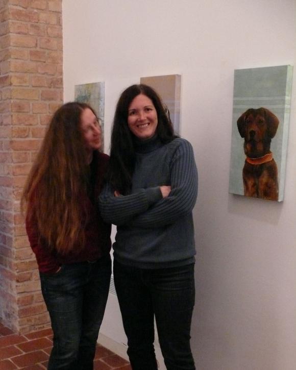 Ausstellungseröffnung Anke Dilé Wissing