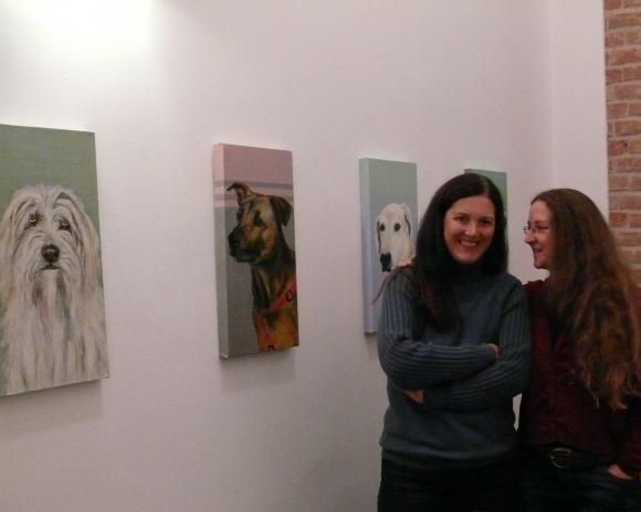 Ausstellungseröffnung Anke Dilé Wissingv