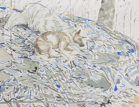 Doodood No.5, 2015, oil on canvas, 100 x 130 cm © Chris Huen Sin Kan