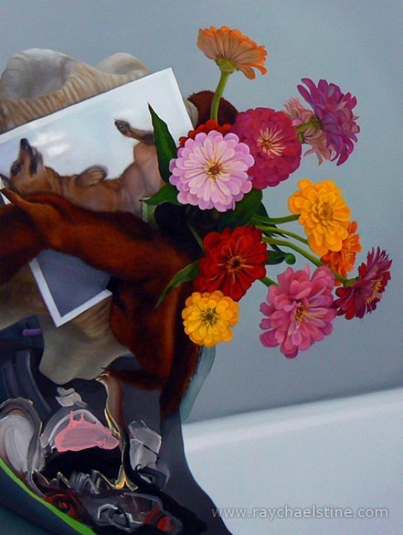 Psychopomp (Spectral Hound), 2012 © Raychael Stine