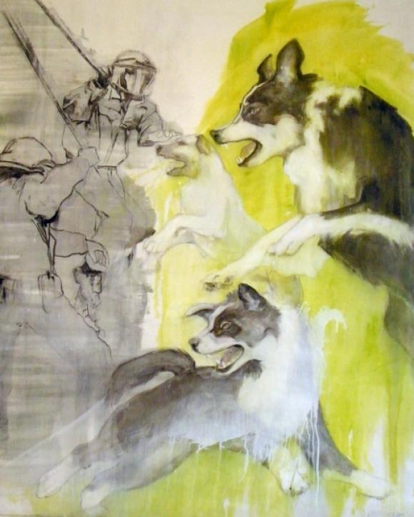 Vertreibung der schlafenden Hunde, 2011 © Tine Schumann