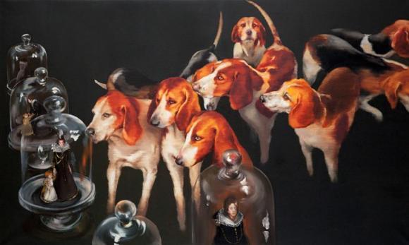 Petits Fours Hunde, 2013 © Sala Lieber