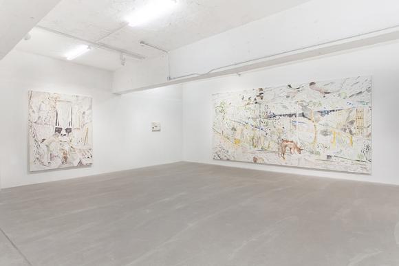 Ausstellungsansicht Gallery Exit, 2015