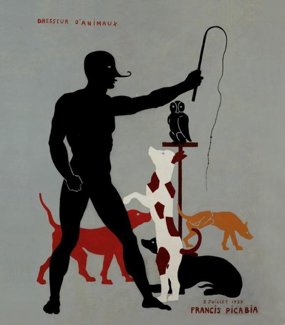 Francis Picabia, Dresseur d'Animaux, 1937