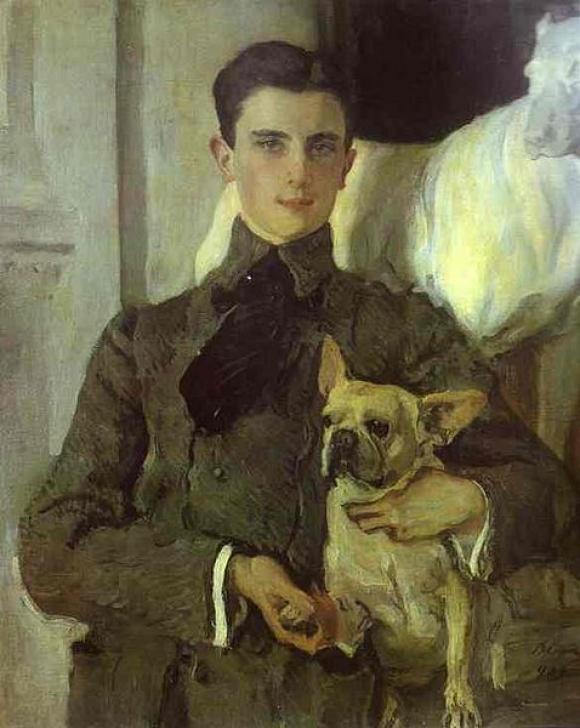 Valentin Serov, Bildnis des Grafen Felix Sumarokow-Elston, 1903