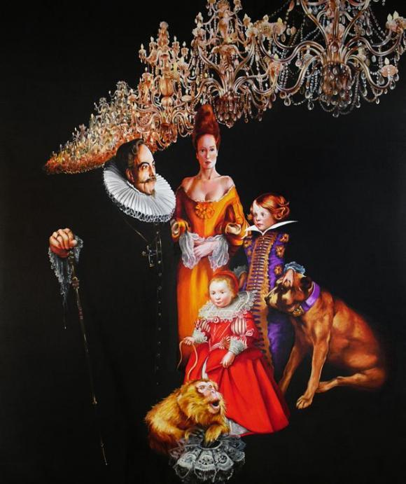 Familie von Bourbon, 2011 © Sala Lieber
