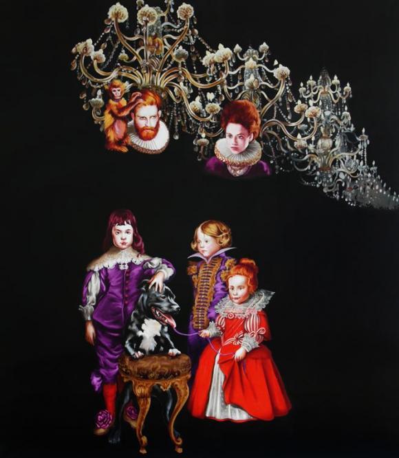 Familie von Bourbon II, 2012 © Sala Lieber