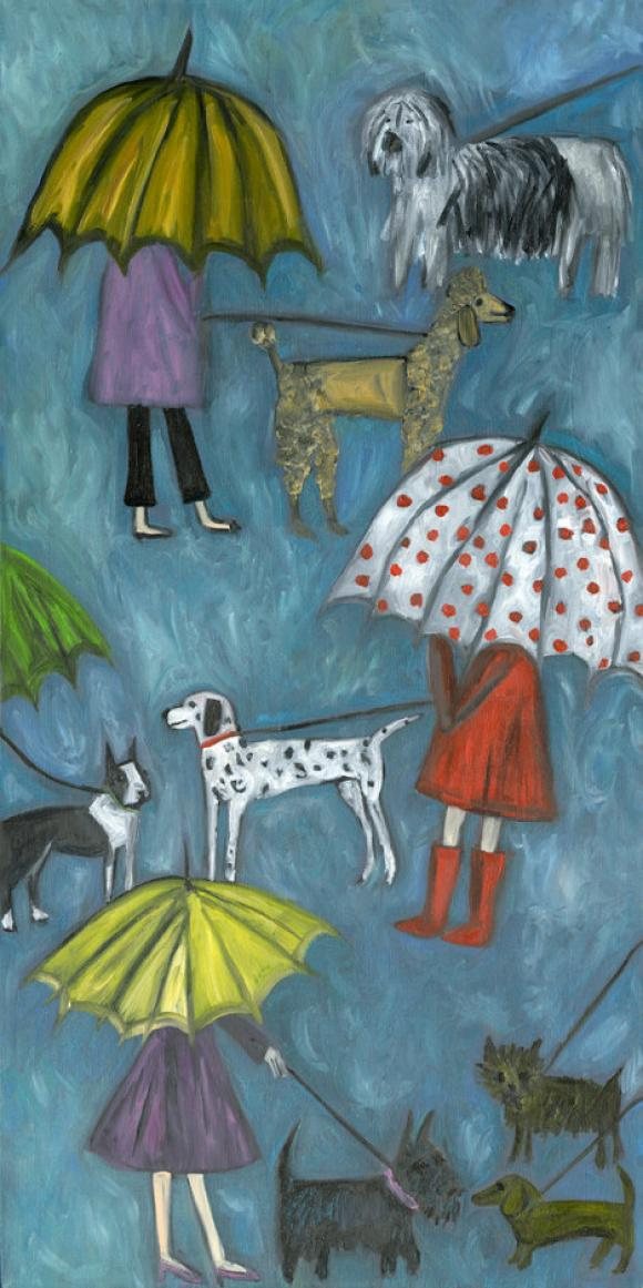 Rainy Dog Days © Vivienne Strauss