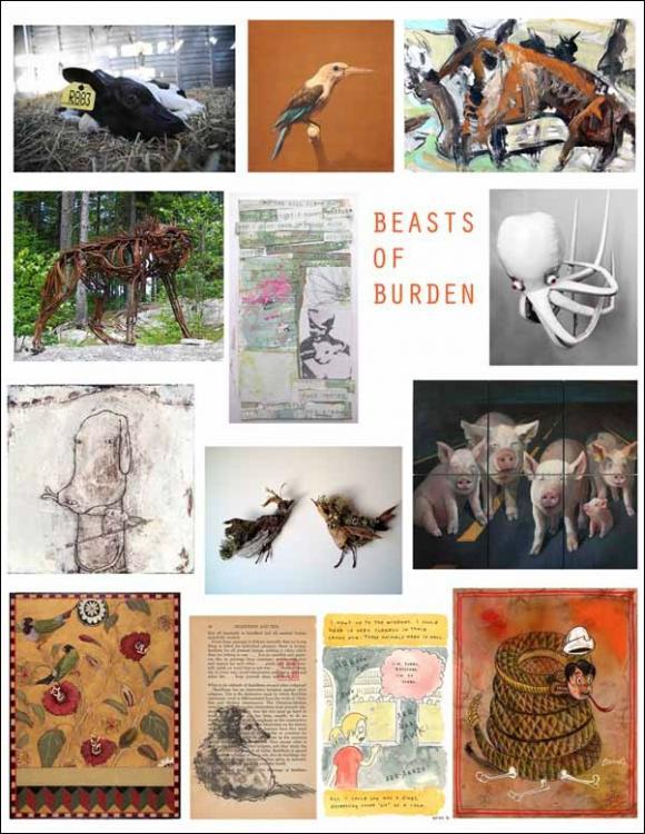 Ausstellung Beasts of Burden