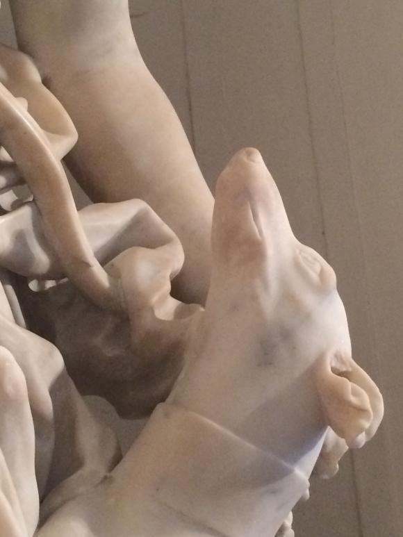 Skulptur von Domenico Parodi, Foto © Petra Hartl
