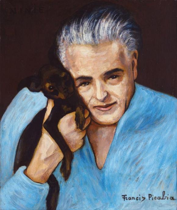 Francis Picabia, Ninie (Selbstportrait), 1942