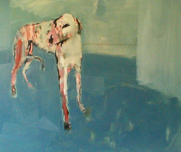 Blue room dog, 2004 © Nick Bodimeade