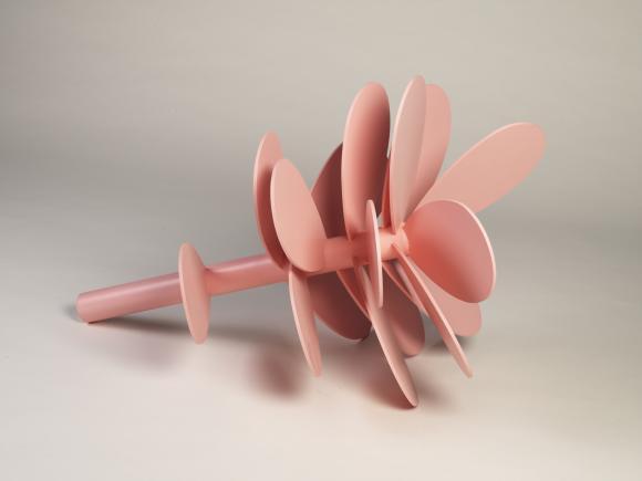 Objekt 003: 2007 Holz, Lack, 90x50x50 cm © Florian Japp