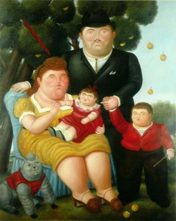 Botero - Familia, 1989