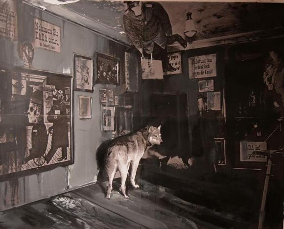 Adrian Ghenie, Dada Is Dead, Study, 2009