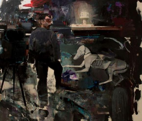 Adrian Ghenie, The Devil 2, 2010