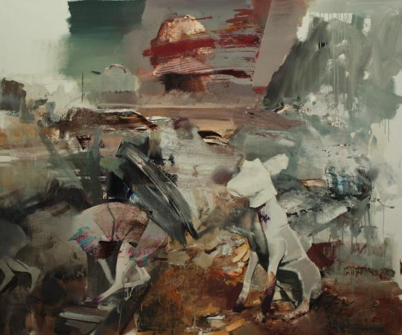 Adrian Ghenie, The Devil 3, 2010