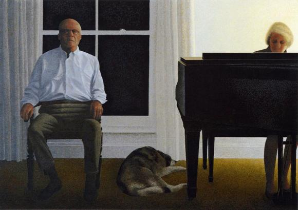 Alex Colville, Living Room, 2000
