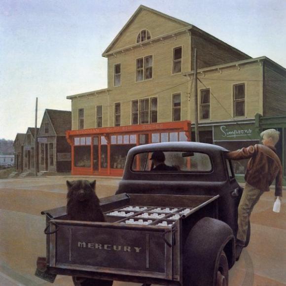Alex Colville, Milk Truck, 1958