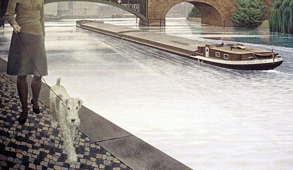 Alex Colville, River Spree, 1971
