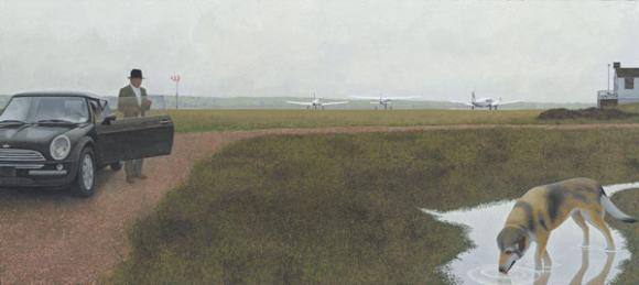 Alex Colville, Waterville, 2003