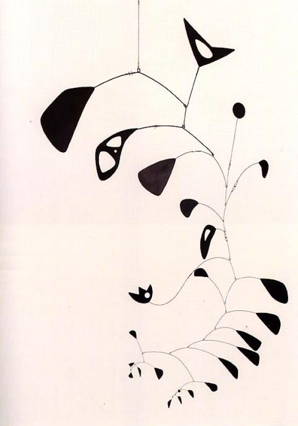 Alexander Calder, The S-Shaped Vine, 1946