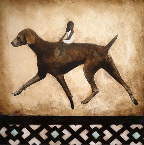 Dog Ride © Anke Schofield