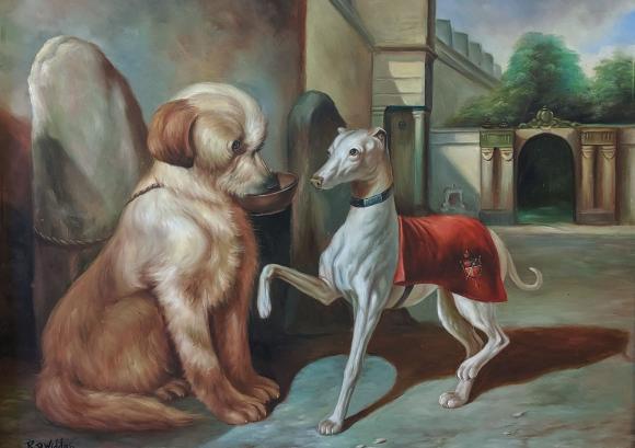 Richard Dodd Widdasnach dem Original von Alfred Dedreux, Armer Hund und reicher