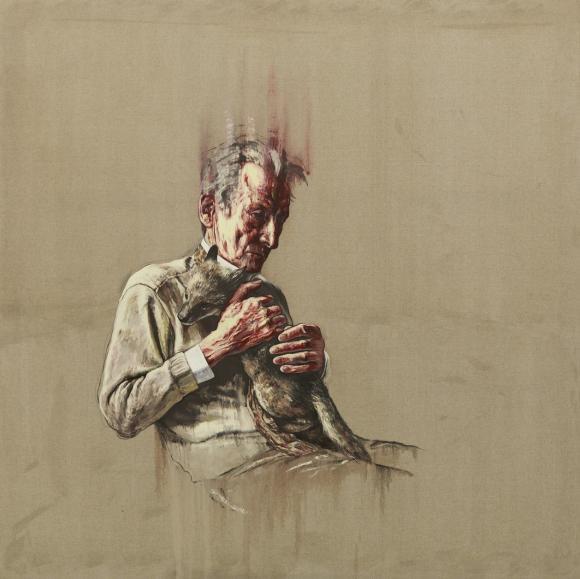 Artist Series Lucian Freud, 2011 © Zeng Fanzhi Studio