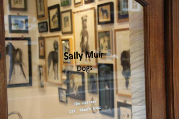 Ausstellung Dogs von Sally Muir © Anthropologie Europe