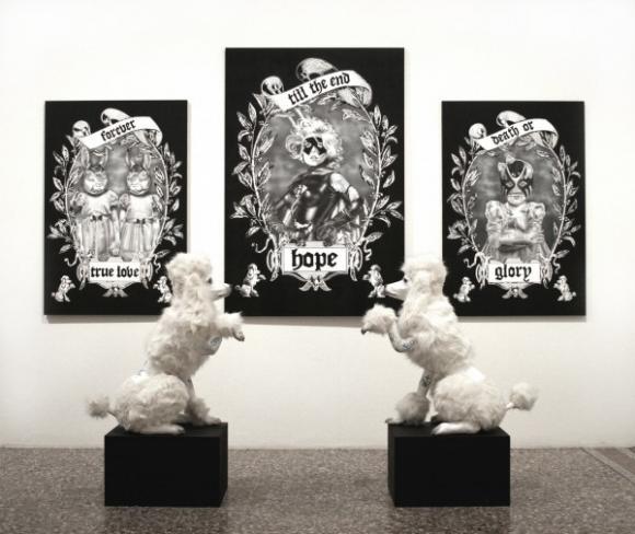 Ausstellungsansicht, 2006 © Zoe Byland