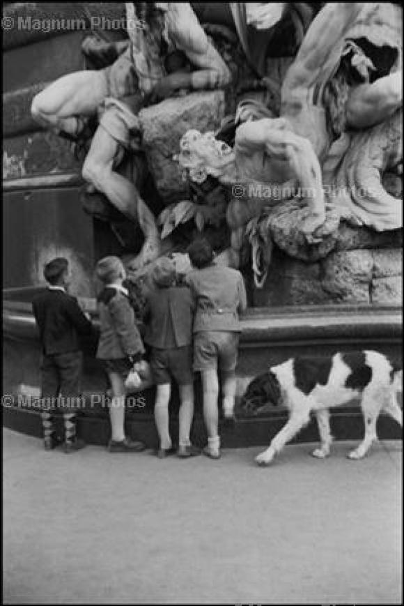 Henri Cartier-Bresson, Österreich/Wien, 1953