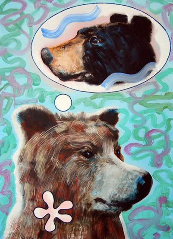 Bär, an die Liebe denkend, 2007 © Martin Praska