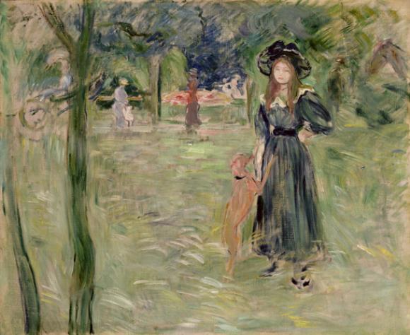 Berthe Morisot, Bois de Boulogne, 1893