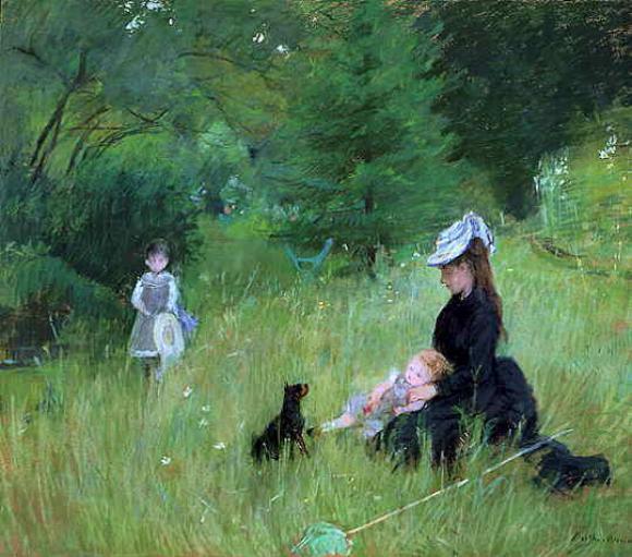 Berthe Morisot, Sur l'Herbe, 1874