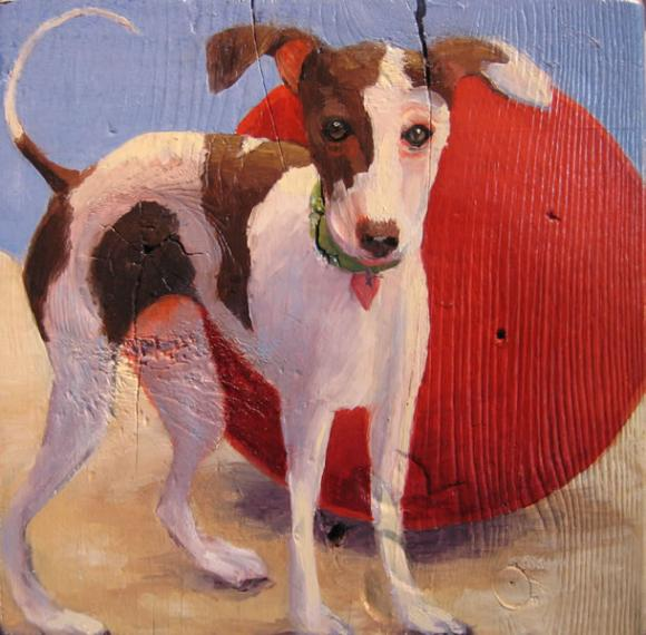 Big Red Ball, 2004 © Jane O'Hara