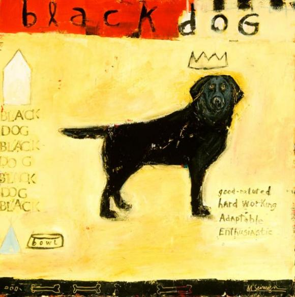 Black Dog © Mary Scrimgeour