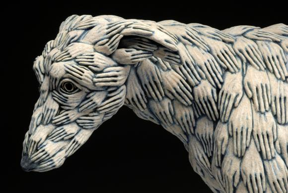 Blue Dog (Detail), 2005 © Adrian Arleo