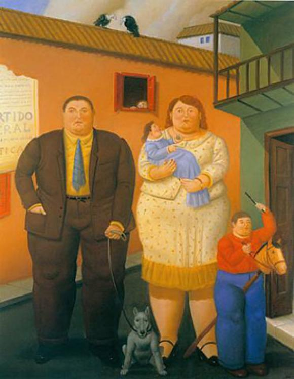 Botero - Familia, 2004