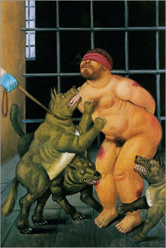 Botero - Abu Ghraib, 2004