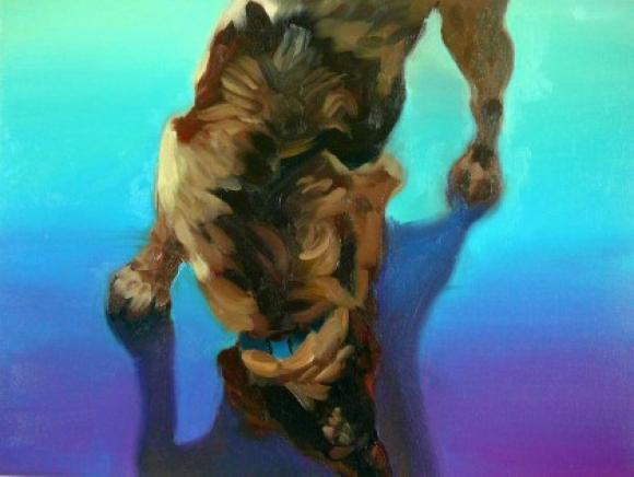 Bunter Hund 3, 2011 © Hannelore Kroll