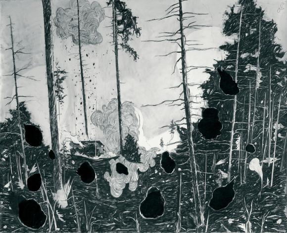 Laura Bruce, Burn, 2010