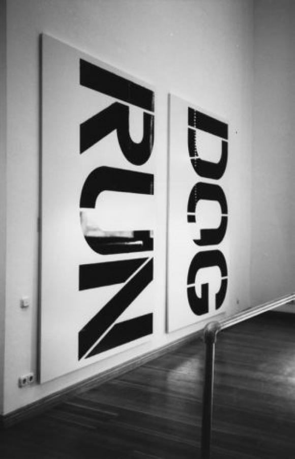Christopher Wool, Metropolis, 1991, Martin-Gropius-Bau, Berlin