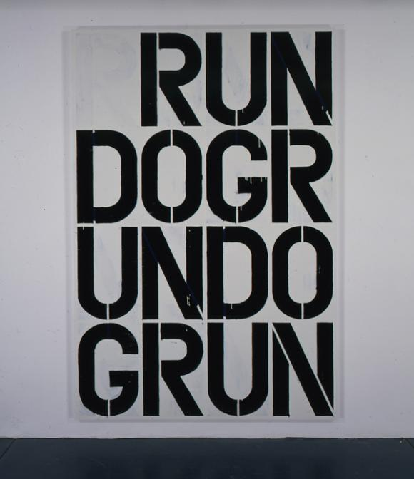 Christopher Wool, Untitled, 1990