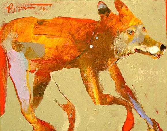 Coyote © Rick Bartow