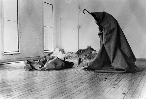 Joseph Beuys, I like America and America likes me